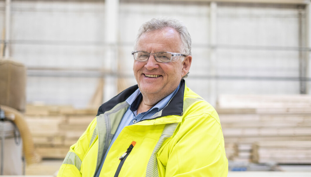 Konsernsjef Morten Kristiansen i Moelven Industrier ASA.