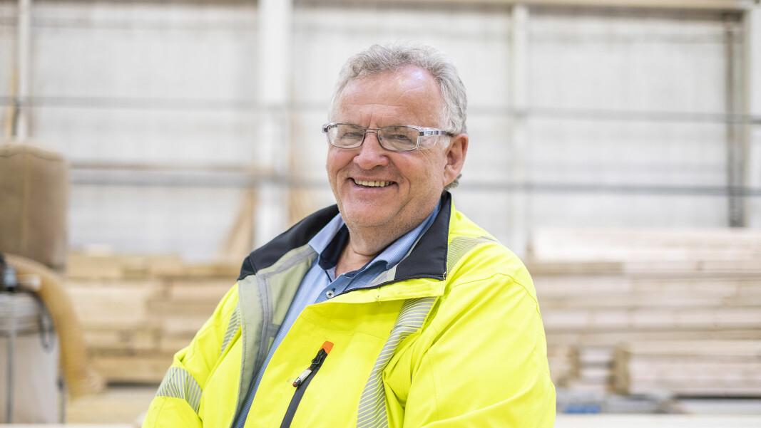 Situasjonen er en unik sjanse for å videreutvikle treindustrien, mener konsernsjef Morten Kristiansen i Moelven Industrier ASA.