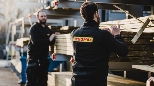 Rekordår for Byggmax