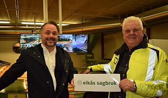 AT Skog har overtatt alle aksjene i Eikås Sagbruk