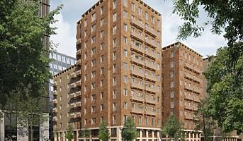 Veidekke fortsetter utbyggingen av det første massivtrekvarteret i indre Stockholm