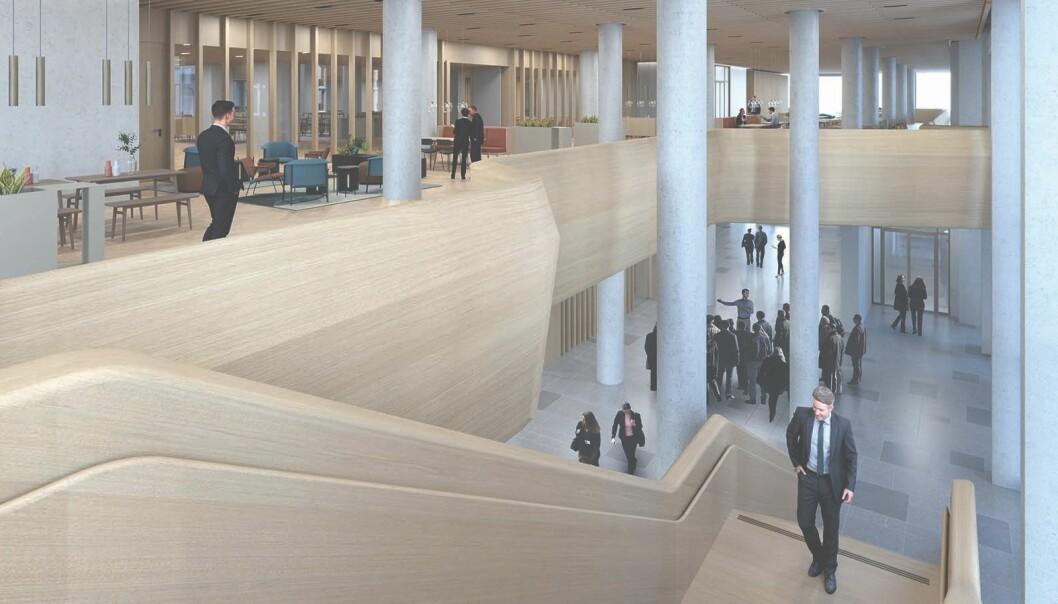 Det blir stilt svært høye krav til kvalitet både til materialer og utførelse i det nye regjeringskvartalet.