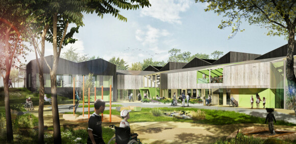 Bygger barne- og avlastningsboliger i massivtre