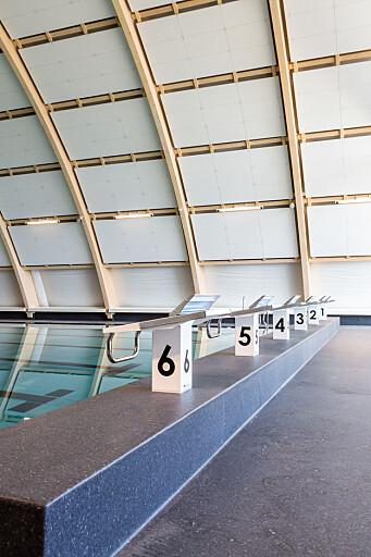 Økern bad er primært planlagt for organisert idrett og svømmeopplæring. Stålbassenget er på 12,5 x 25 meter, og har skrå bunn med varierende dybde opp til 1,6 meter.