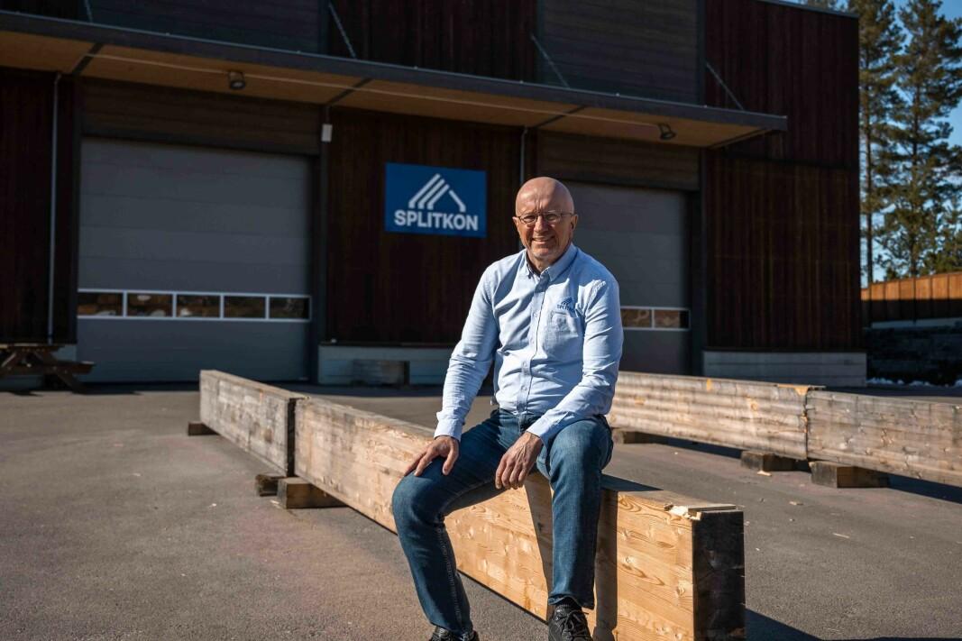 Administrerende direktør Morten L. Johansen i Splitkon.