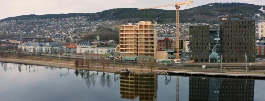 Se video fra Spor X i Drammen