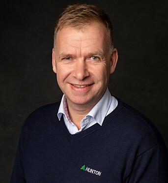 Administrerende direktør Arne Jebsen i Hunton.