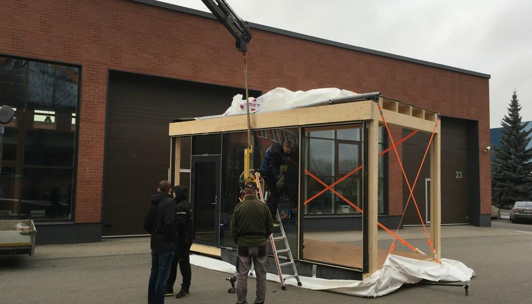 Tremodulene kan ha store åpninger i veggene, som kan tilpasses store rom eller vinduer.