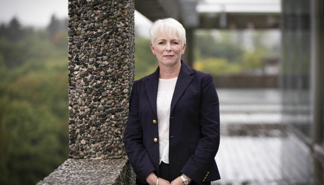 Treindustriens administrerende direktør Heidi Finstad