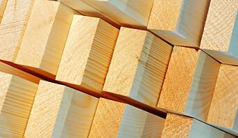 Stort fall i eksport av trebaserte byggevarer i april