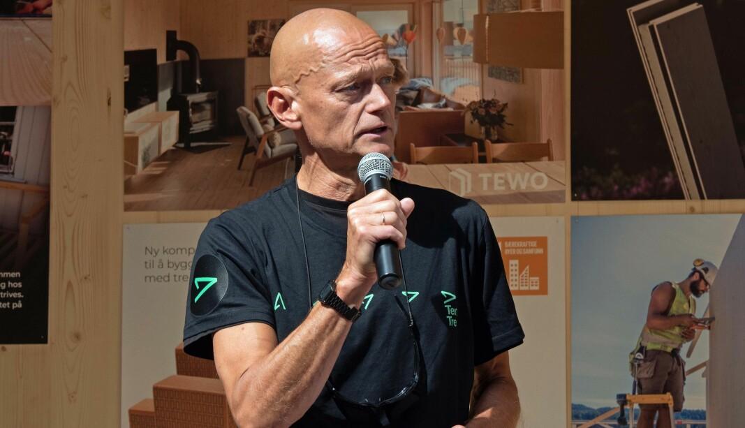 Ingen kritiserer trebygg i «arkitekturopprøret», peker Aasmund Bunkholt på.
