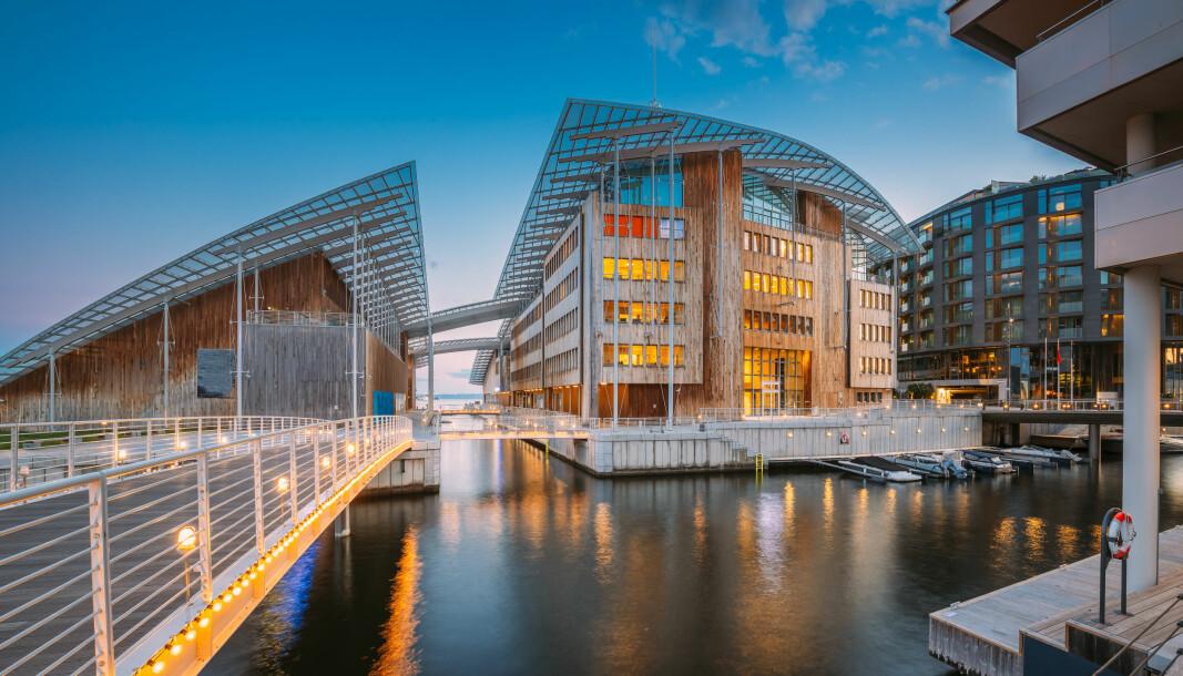 Arrangørene bak WCTE mener Norge har mye å vise fram, både forskningsfaglig og på grunn av at vi har bygget kompliserte trekonstruksjoner. Her: Astrup Fearnley Museum (Arkitekt: Renzo Piano / NSW Arkitektur)