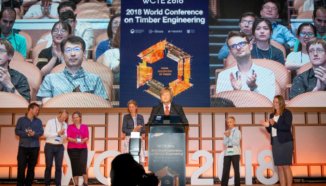 Fra WCTE 2018 i Seoul, da Norge vant WCTE 2023