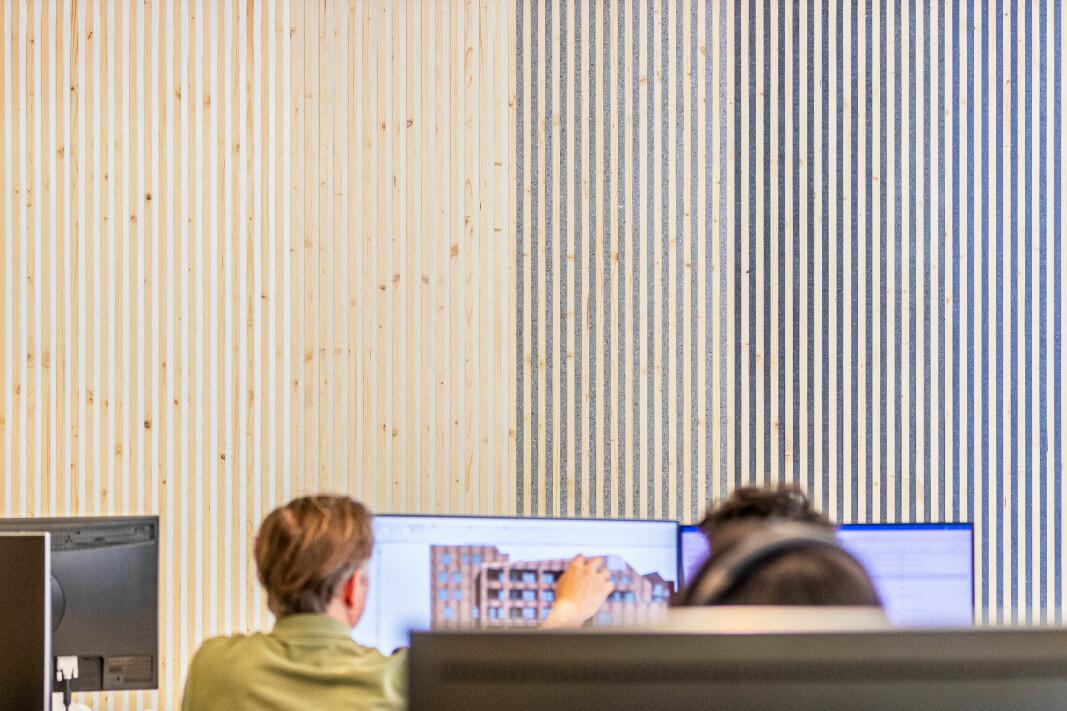 TewoFlex er fleksible og gjenbrukbare skillevegger i tre laget av norsk gran og produsert i Hurdal, Norge.