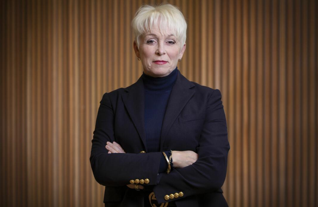 Administrerende direktør Heidi Finstad i Treindustrien.