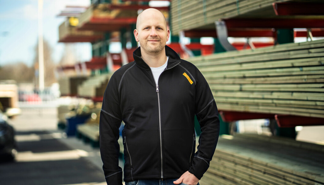 Niklas Hamberg, Norgessjef i Byggmax